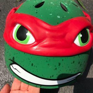 Bell Helmet Teenage Mutant Ninja Helmet-Raphael